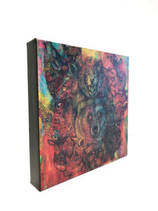 Canvas featuring multicolored animals. Canvas printing available at Pro-Type Printing