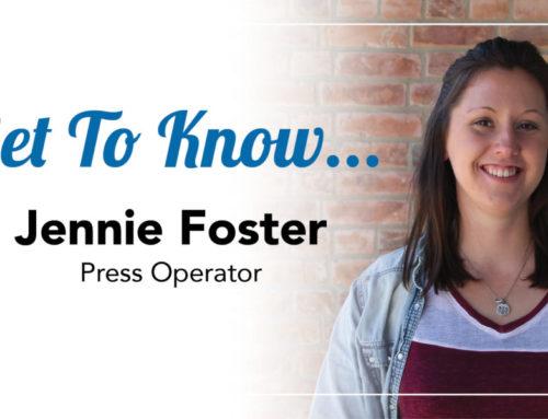 Get to Know… Jennie Foster